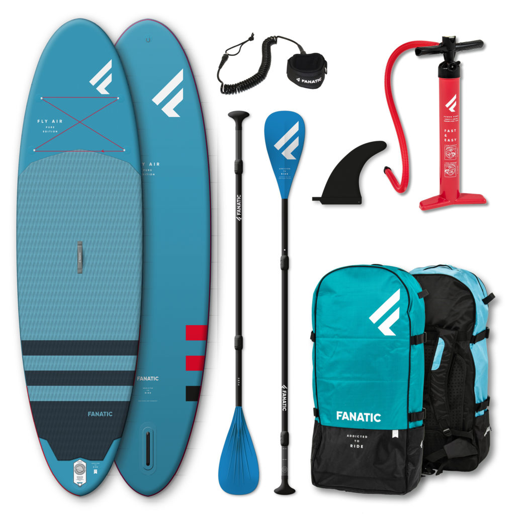Fanatic Package Fly Air/Pure Blue Inflate