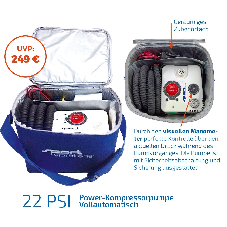22 PSI – Sport Vibrations  Elektrische  PUMPE