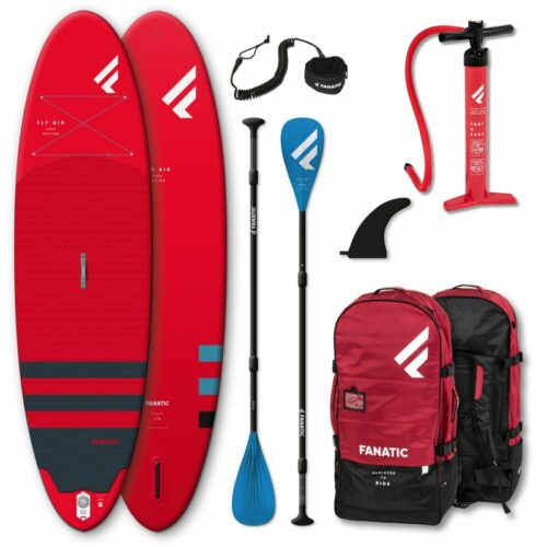 Fanatic Package Fly Air Pure Set red