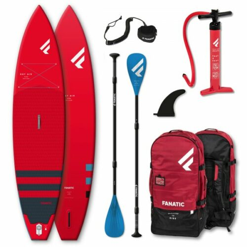 Fanatic Package Ray Air/Pure Set red